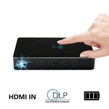 Android 7.1 quad core 32GB mini projector M9 wifi bluetooth DLP HD pocket For home theater
