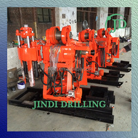 2016Hot sell water well borehole drilling mahcine 30-200m depth/drill rigs
