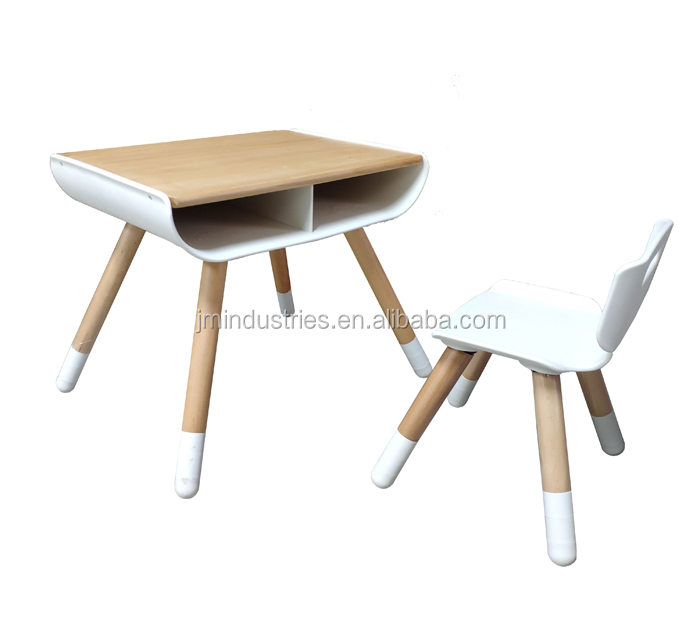 2019 New Design Kids Wooden Table Homework Table Kids Table and chair set