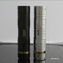 Top selling high quality e-cigarettes sparta mod and newest mechanical sparta mod disposable e-cig in stock