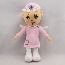 20cm 2017 newest plush cartoon toys sexy nurse doll for girl