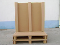 Corrugated cardboard packaging paper pallet
