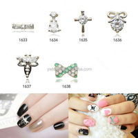 Factory direct sale novel design 3d nail charm from manufacturer