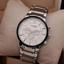 Curren brand Luxury Stainless Steel Men Watch Japan Quartz Movement Watch