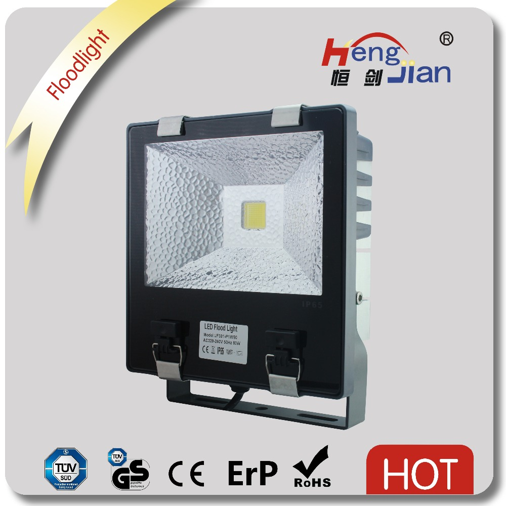 2016 high power led flood light 80w AC85-265v working COB Chip led projector