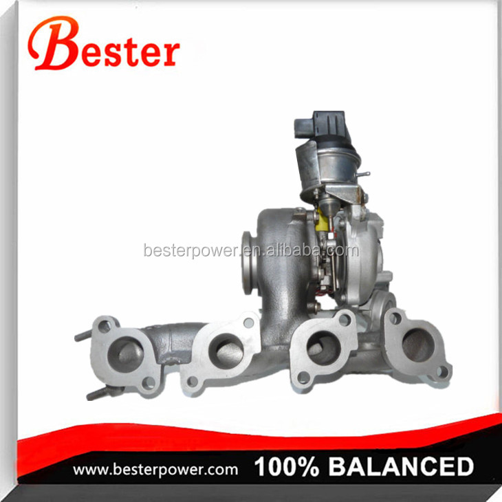 BV43 Turbo 53039880205 53039880132 Turbocharger for Audi A3 2.0L TDI (8P/PA) Engine CBAA CBAB