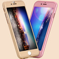 360 degree full body hard pc couple phone case cover for iphone7/7 plus