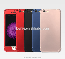 Factory Wholesale TPU PC 360 cover custom case for iphone6 or for iphone 5c