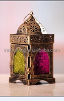 Steel moroccan candle lantern