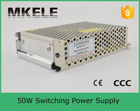 S-50-5 tattoo machines dc power supply switching power supply 50w for electrolysis variable frequency ac power source