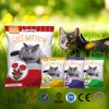 China Cat Litter Sand Factory/ Best clean bentonite cat litter eco-friendly