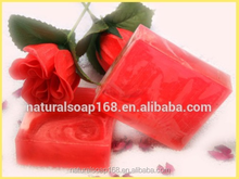 Natural Strawberry Essential Oil Handmade Herbal Soap 100g