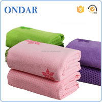 Ondar custom printed yoga towels exercise towel fitness towel