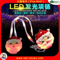 High Quality Christmas Light LED Necklace OEM LED Flashing Necklace For 2016 Christmas NIght Party