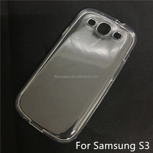 Soft TPU Silicon Transparent Clear Case for Samsung S3/I9300