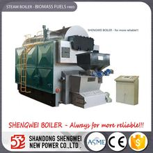 2~25ton Biomass Rice Husk Fuel Steam Boiler Wholesale