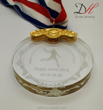 MD0001Daihe Factory Direct Sale Medal Custom Sports Medal with Ribbons