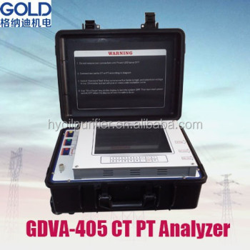 GDVA-405 Multifunctional Laboratory IEC 60044 Transformer CT PT Analyzer