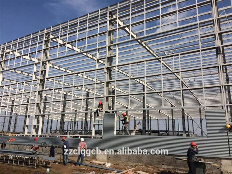 Henan pre engineering prefabricated high rise steel structure building