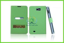 mobile phone leather case for galaxy note i9220