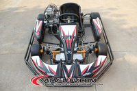 Hot Selling 270cc 9hp racing go kart/two seat go kart/2 stroke go kart engines