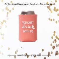 Best Selling Inexpensive Wedding Favors Neoprene Beer Can Cooler Bag