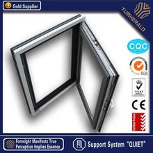 2014 New Customized Hot Sale Aluminum Frame Tempered Glass Window