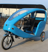 Electric Pedicab Taxi Rickshaw Bikes for Passenger