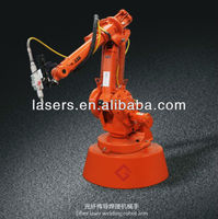 Automation Welding Robot Arm for Metal Stainless Steel 0.1mm to 2mm