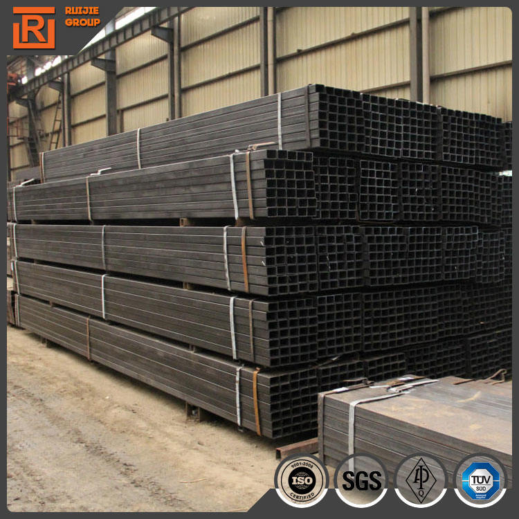 150x100 rectangular and square steel pipe square tube weight erw steel pipe rhs rectangular tube hollow section