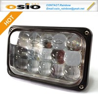 5 INCH Square LED HIGH POWER Fog Light Auto Sealed Beam 8V-36V 36W