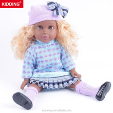 wholesale black fashion plastic dolls for kids