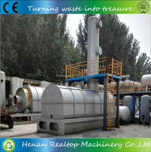 High quality Continuous pyrolysis oil distillation machine