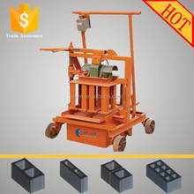 QMJ2-45 Egg Laying Mobile Block Machine Concrete Used Block Machine For Sale Making Machines