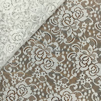 polyester spandex knitted lace fabric new fashinable design for lady dresses