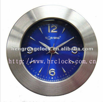 Christmas Gift table Clock with cheap clock metal alarm bed clock