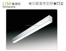 Modern spring clips led ceiling light