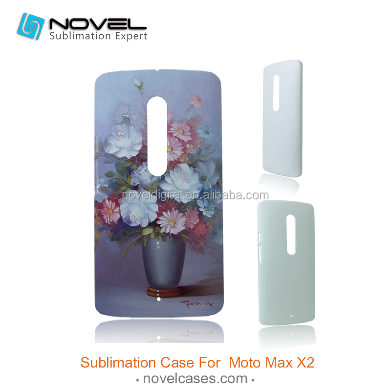Hot Sale 3D Sublimation Phone Case Cover for Motorola Max x2, DIY Phone Case Cover