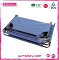 Accordion Elevated Pet Cot Durable and Stable CE Standard Pet Cot