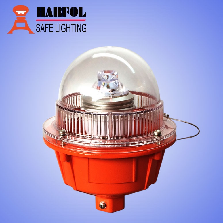 HARFOL led airfield bulb/aircraft warning light/beacon/lantern for telecom tower/chimney/building