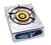 Home Appliances Portable Gas Hob , Single Burner Gas Cooking , Stainless Steel Cooktopr BW-1002
