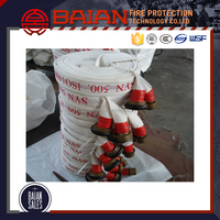 High quality fire retardant fire fighting hose