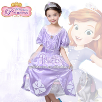 FREE SHIPPING by FedEx !!! Wholesale Fairy Tale Every Girls' Princess Dream Sofia Princess Fairy Dress for Child