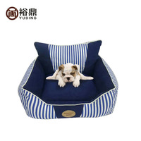 Princess soft dog bed/ dog sofa royalblue pet sofa