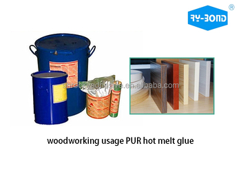 PUR polyurethane hot melt glue edge banding glue