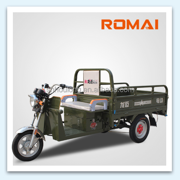 Open Body Cargo motor tricycle for adults on sale large capacity