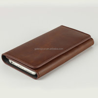 Special design smart leather cover case for iphone 6s/ 6s plus with stand
