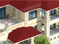 Plain Red architectural Asphalt Shingles