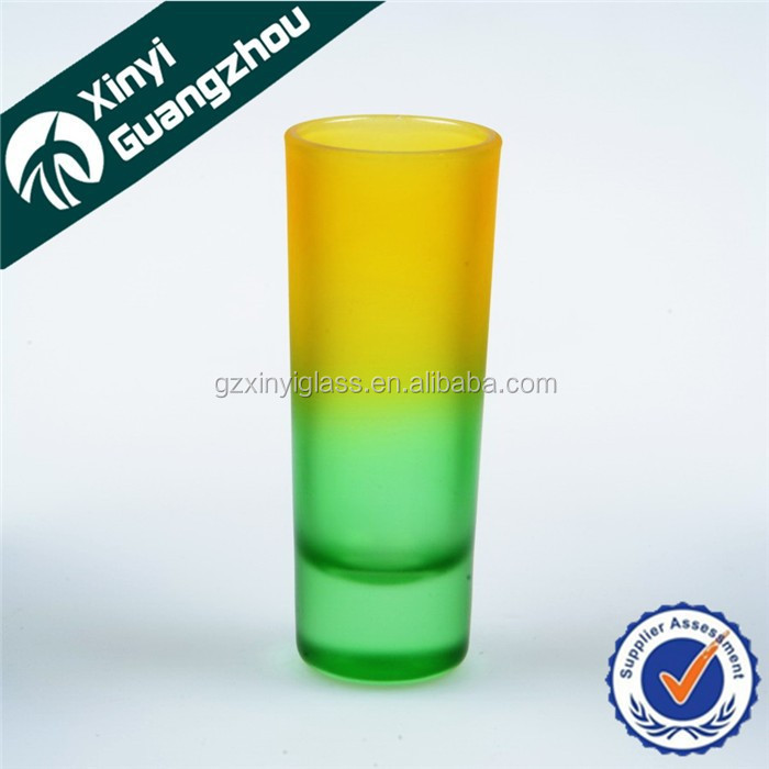 colorful shot glass for new year party shot glass for bar