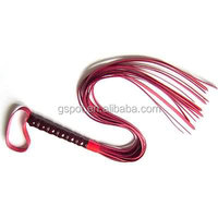 sexy sex furniture, black / red leather whip lash strap sex toy couple game